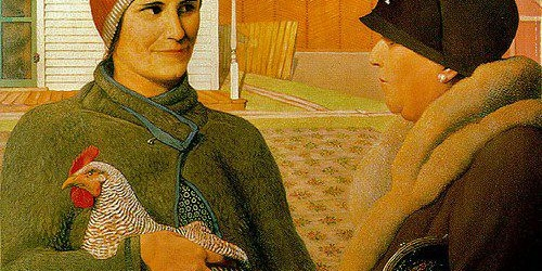 The Appraisal, Grant Wood, 1931