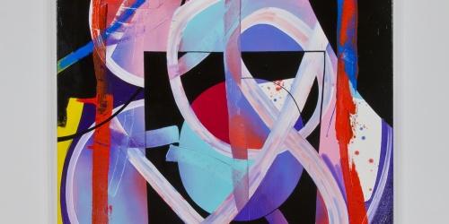 "Eric Sall, Broken Blues, 2014, oil on canvas, 60"" x 48"""