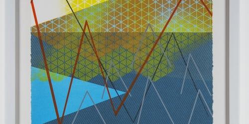 """Kristina Paabus, Go 2, 2014, screenprint on paper (1/5), 19"""" x 14"""""""