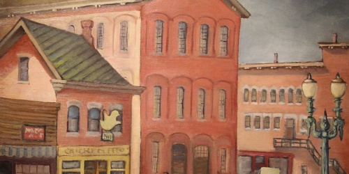 Street Scene, by Christine R. Glasell, 1939