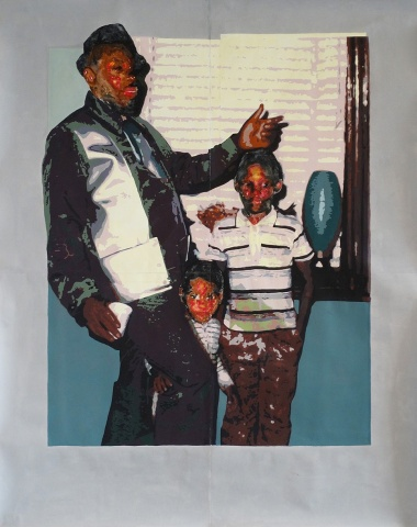 Tyanna Buie, Father and Sons, 2018