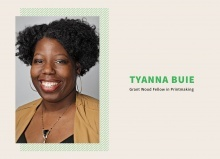 "Talk: ""Constructing Narratives"" with Tyanna Buie"