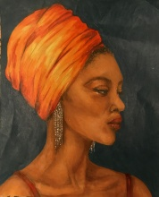 Phaedra Isbell, Saffron, 2021
