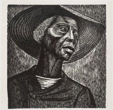 Elizabeth Catlett, Sharecropper (1952)